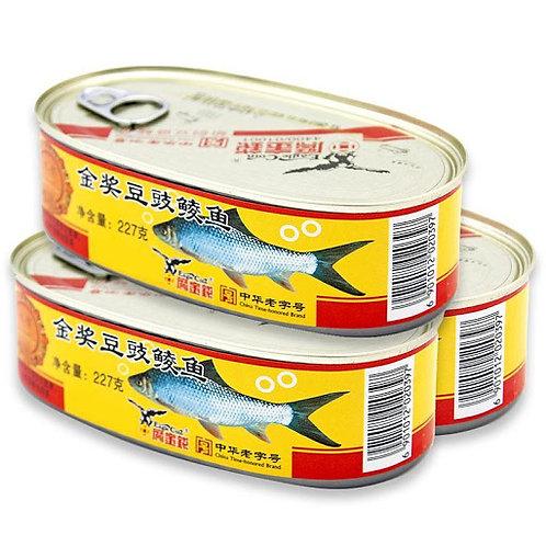 鹰金钱金奖豆豉鲮鱼2pk