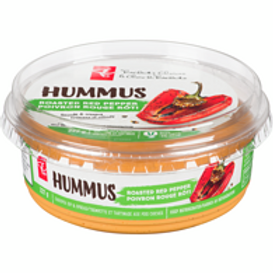 PRESIDENT'S CHOICE,Roasted Red Pepper Hummus 227 g