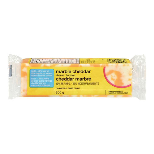No NameCheese, Marble Cheddar Light 200 g