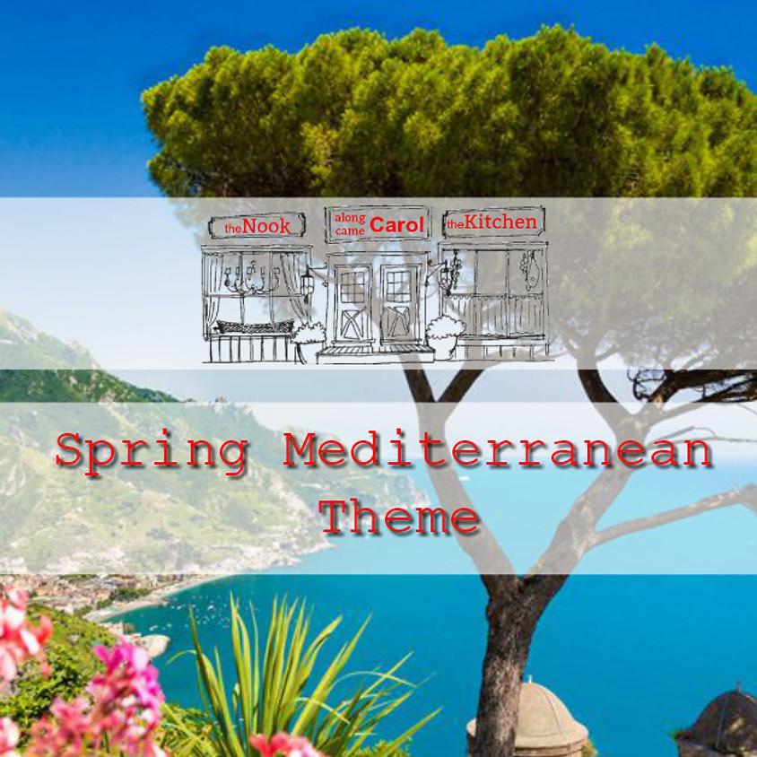 The Nook | Spring Mediterranean Theme