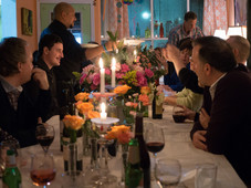 Communal dining event at The Nook