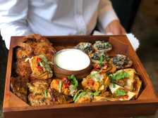 Delicious tex-mex hors d'oeuvres