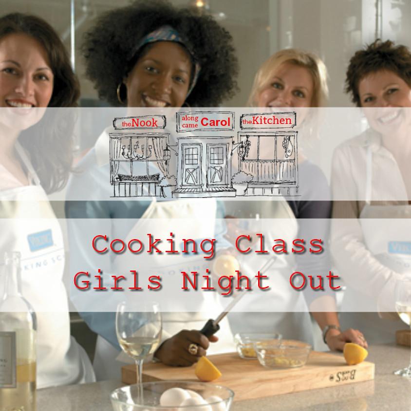 Cooking Class - Girls Night