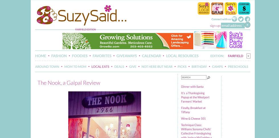 Suzy Said the Nook