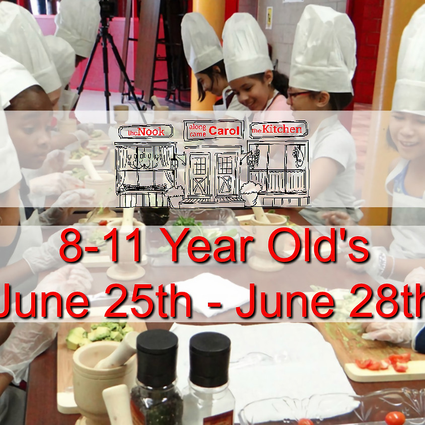 8-11 Year Old's Summer Camp • June 25-28