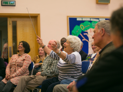 Keeping the Music Alive for National Care Home Open Day