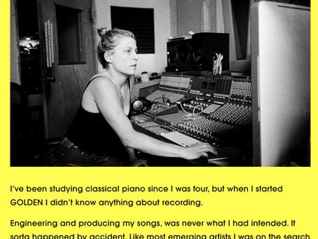 GOLDEN: Studio Diary 01