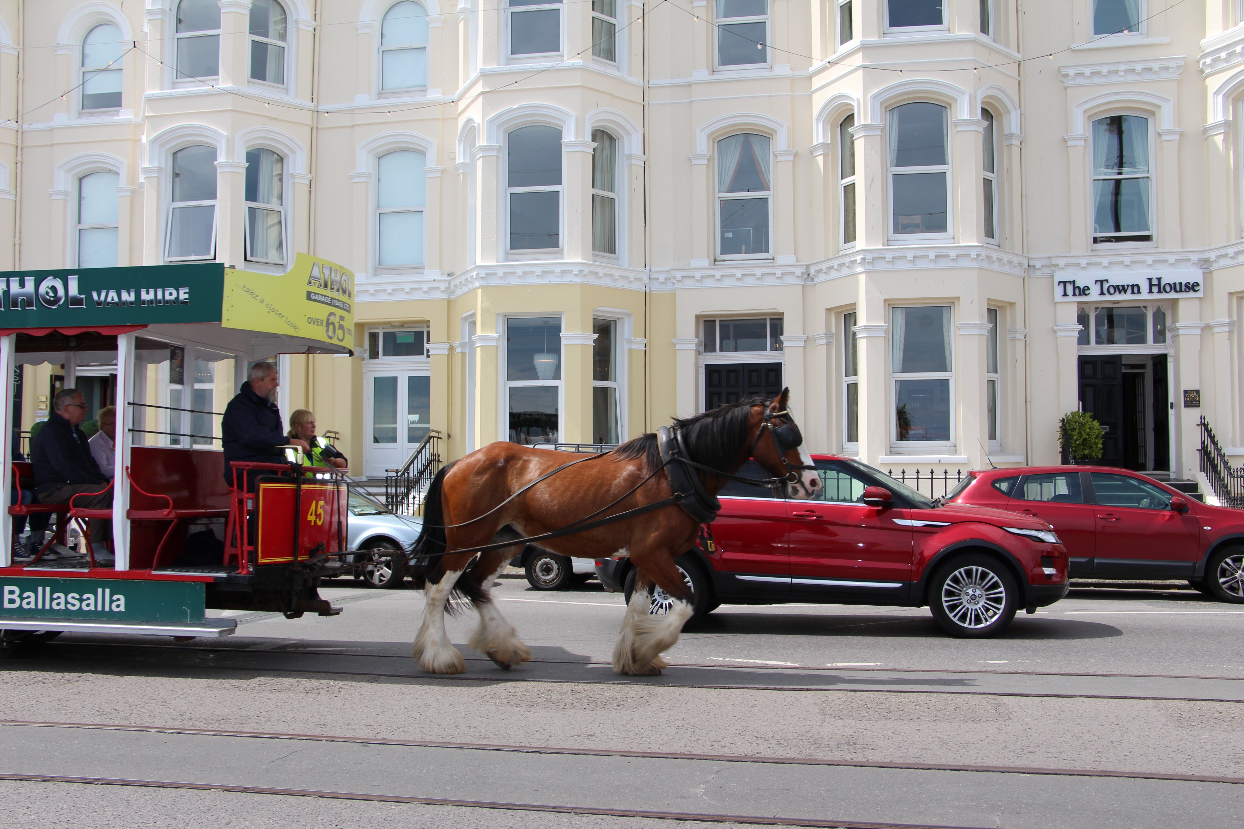 Horse tram down the Prom anyone?