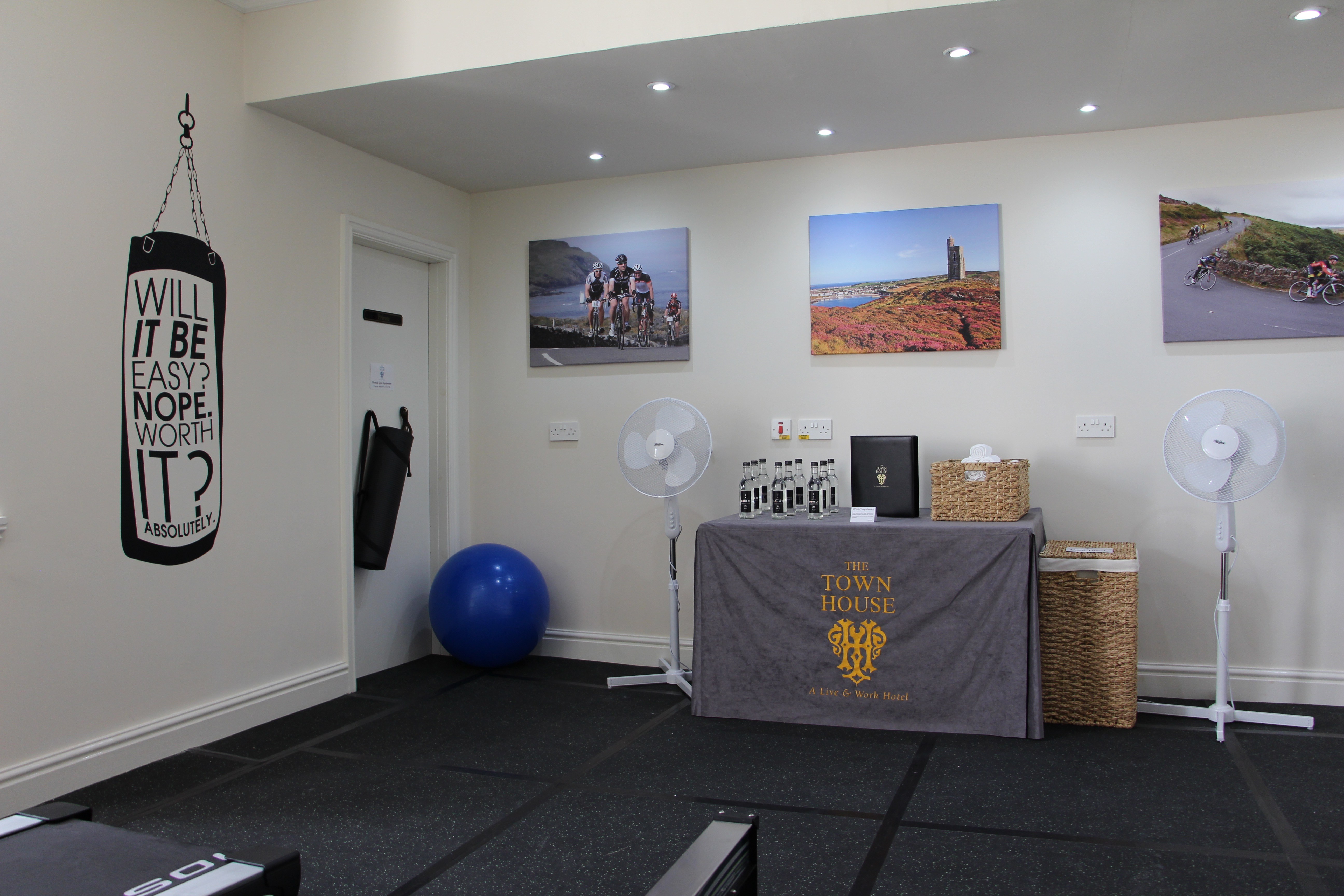 Workout area gym