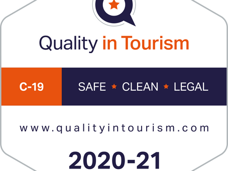 We have achieved the Safe, Clean & Legal Accreditation