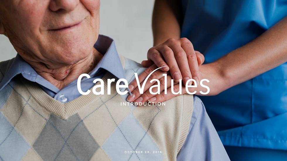 Intro to Care Values