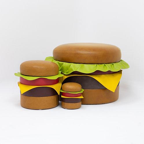 Vandy Burger Ottoman