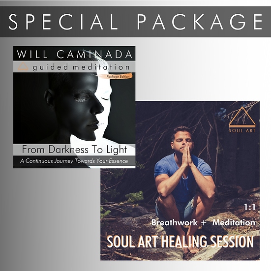 SPECIAL PACKAGE: Meditation + 1:1 Healing Session