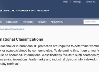 WIPO International Classifications
