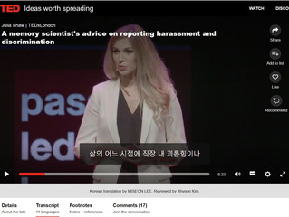 TED talk, Korean subtitle by MISEON LEE