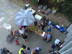 Russian River party for my friends