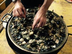 Black Squid Paella