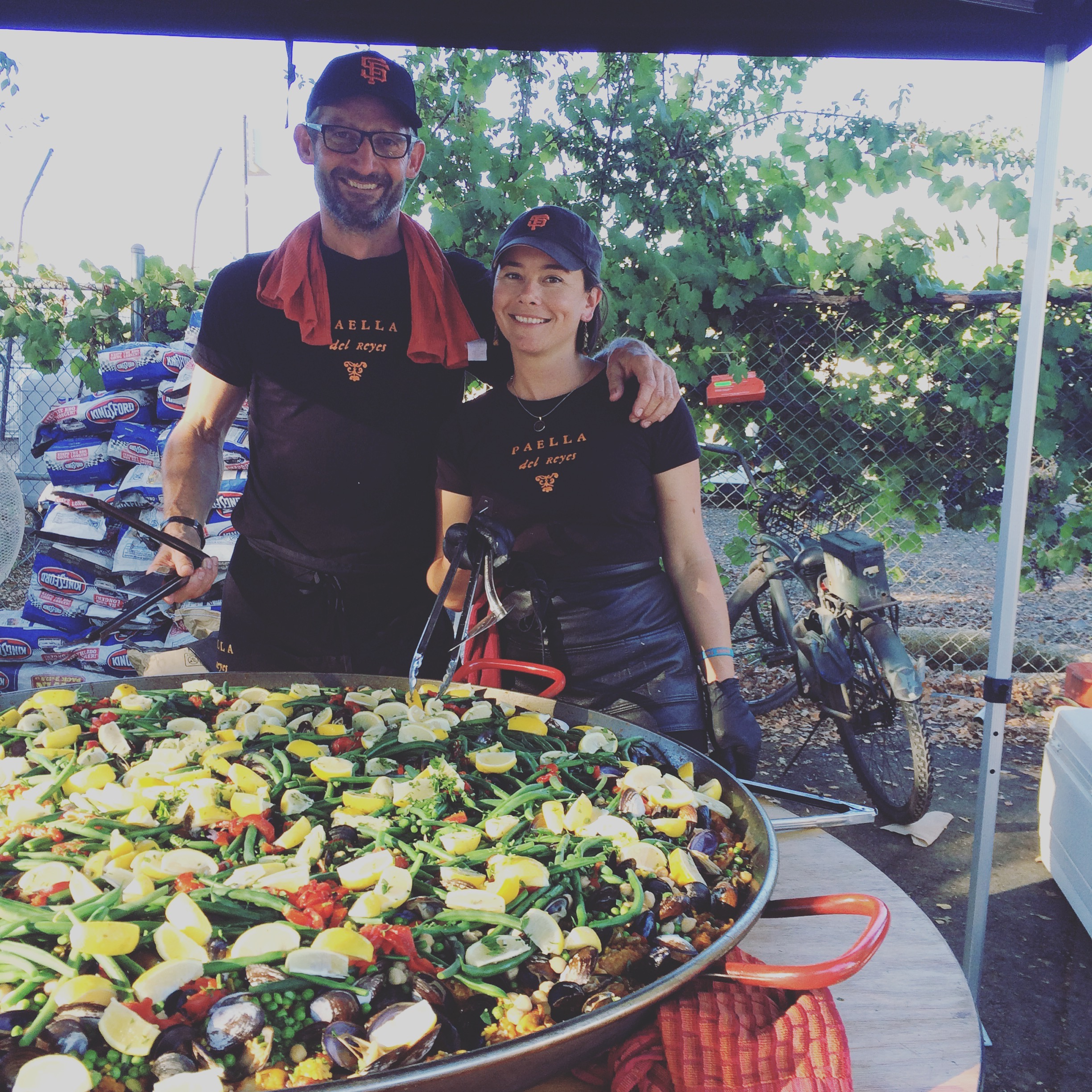 Cooking for the victims of the Valley Fire