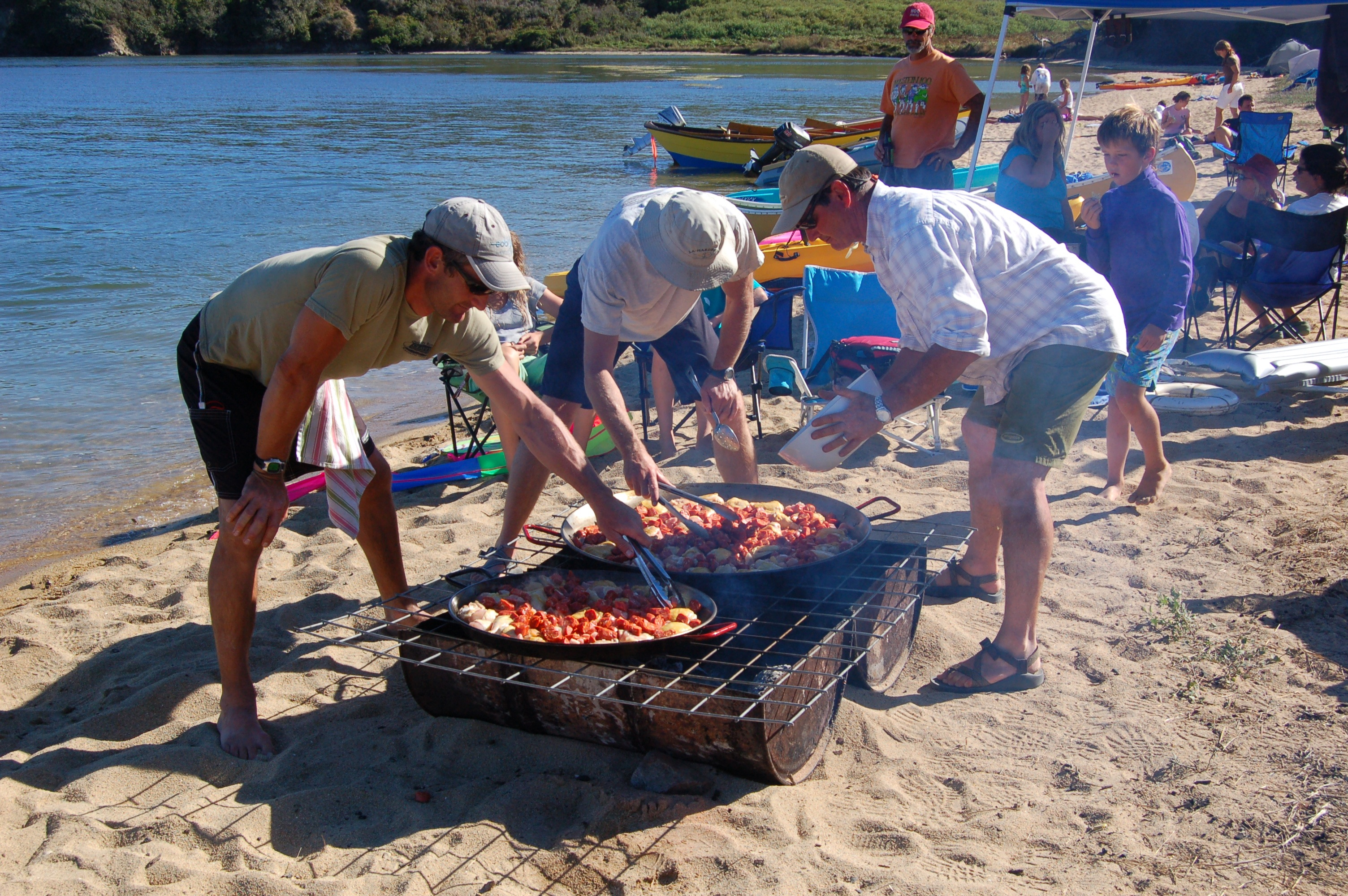 Tomales Bay beach party