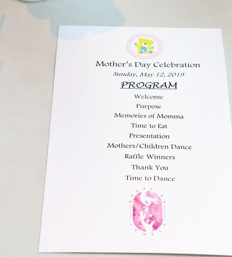 Program Mother's Day Celebration 2019
