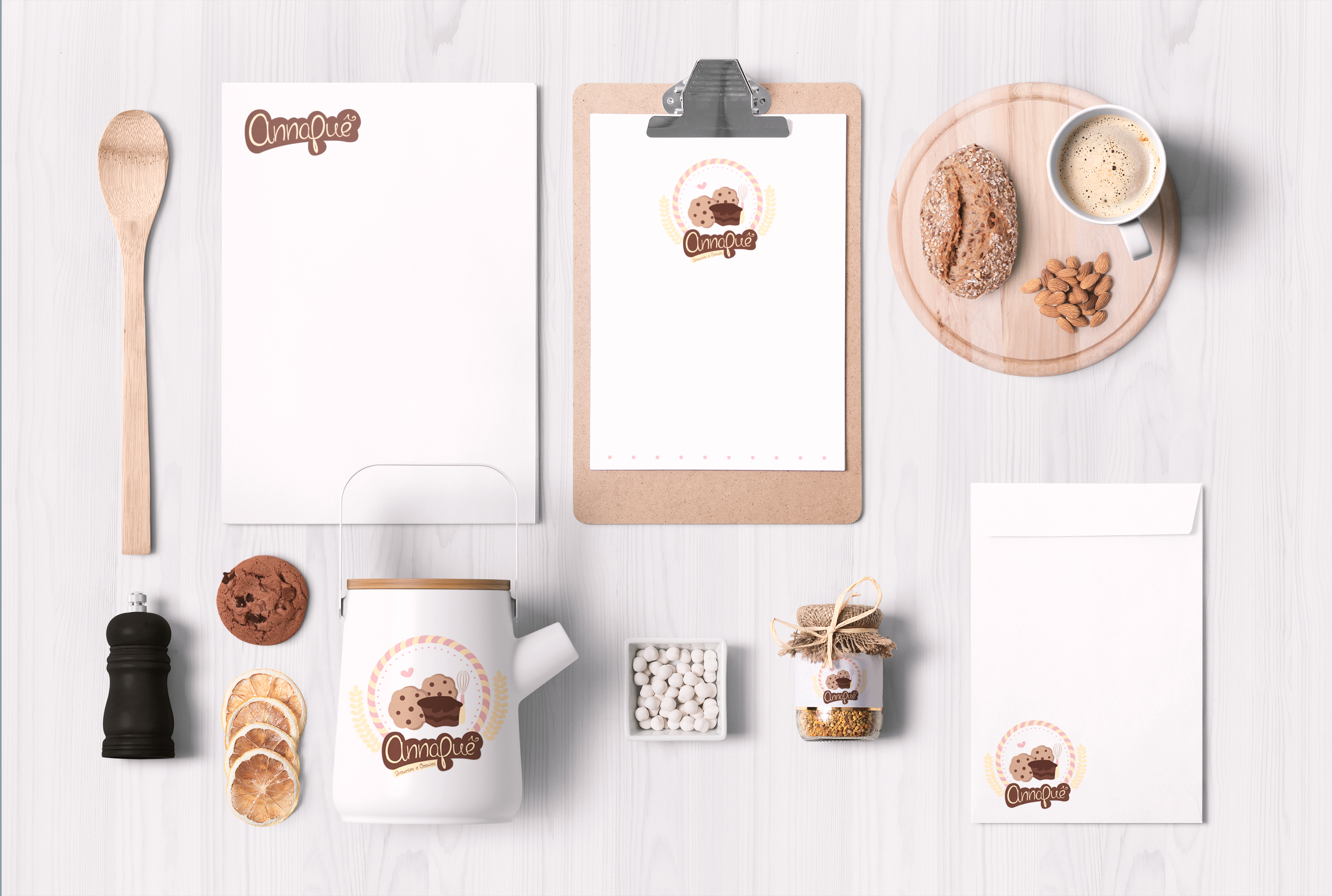Food Packaging & Branding MockUps 01