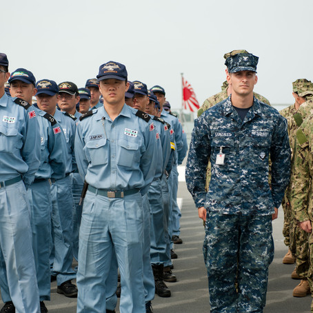 Japan is remilitarizing for the first time since World War II