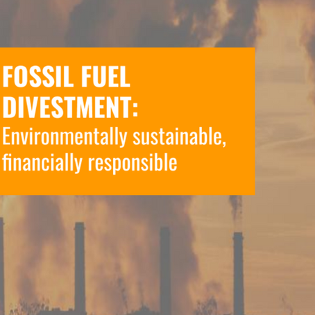 A.U.S.G. 's New Report on Fossil Fuel Divestment, Summarized