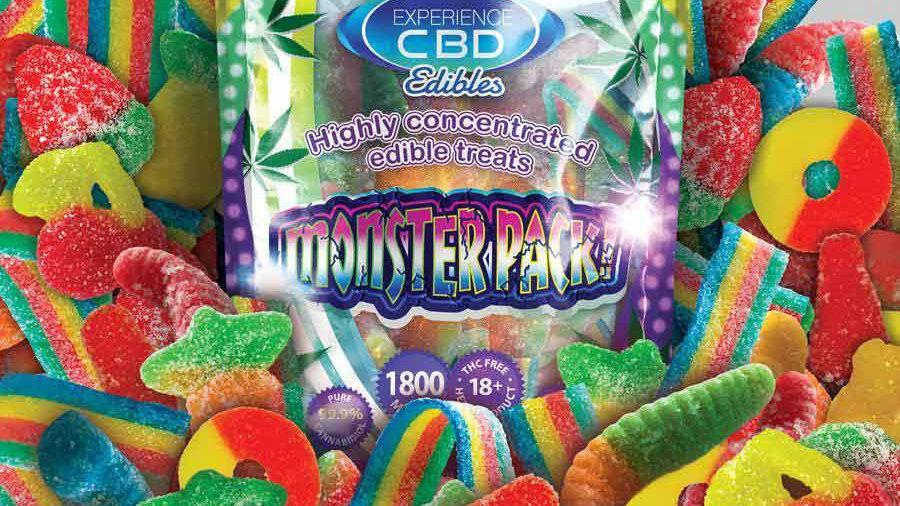 Experience CBD 1800mg edibles