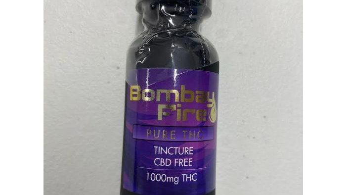 Bombay Fire Tincture 1000mg THC