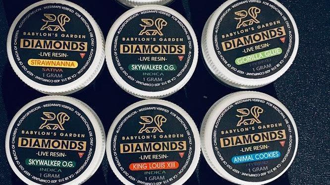 Babylon's Garden Live Resin Diamond Sauce 1G