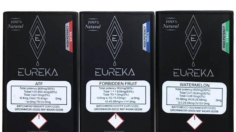 Eureka Vape 1g - sativa