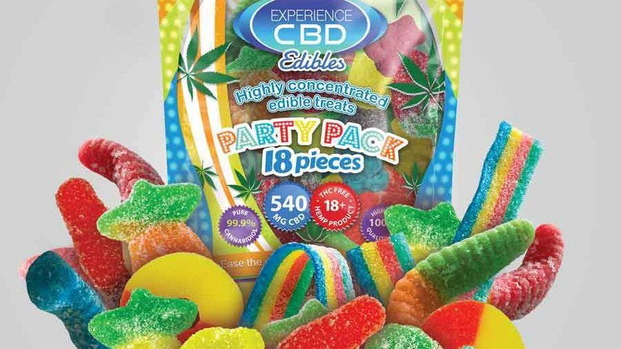 Experience CBD 540mg edibles