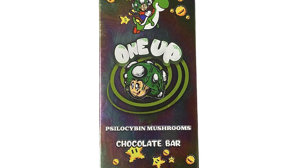 One Up Mushroom Chocolate bar
