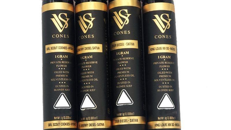 VVS CONES PRE ROLLS HYBRID
