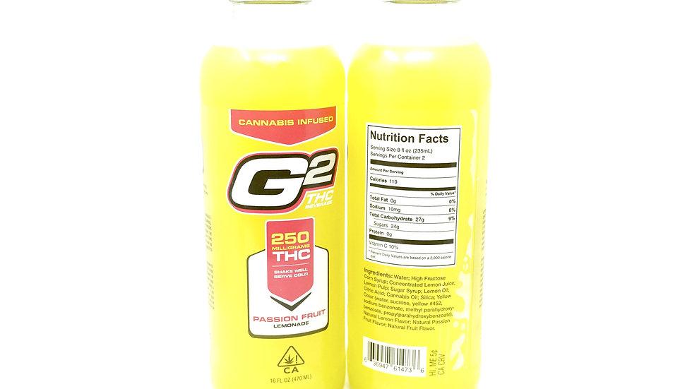 G2 THC Lemonade- 250mg