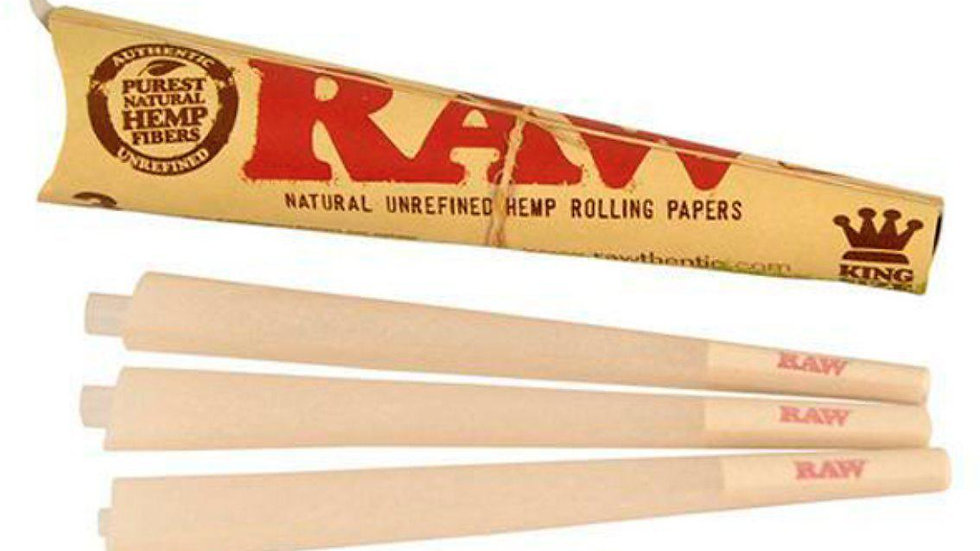 RAW KING SIZE CONE'S