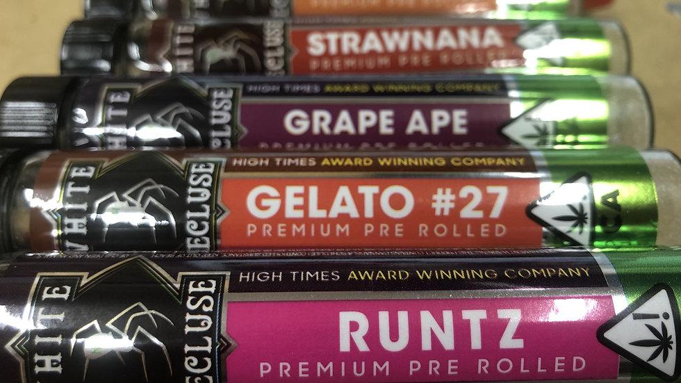 White Recluse Premium Pre Roll