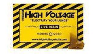 High Voltage Live Resin Shatter 1g