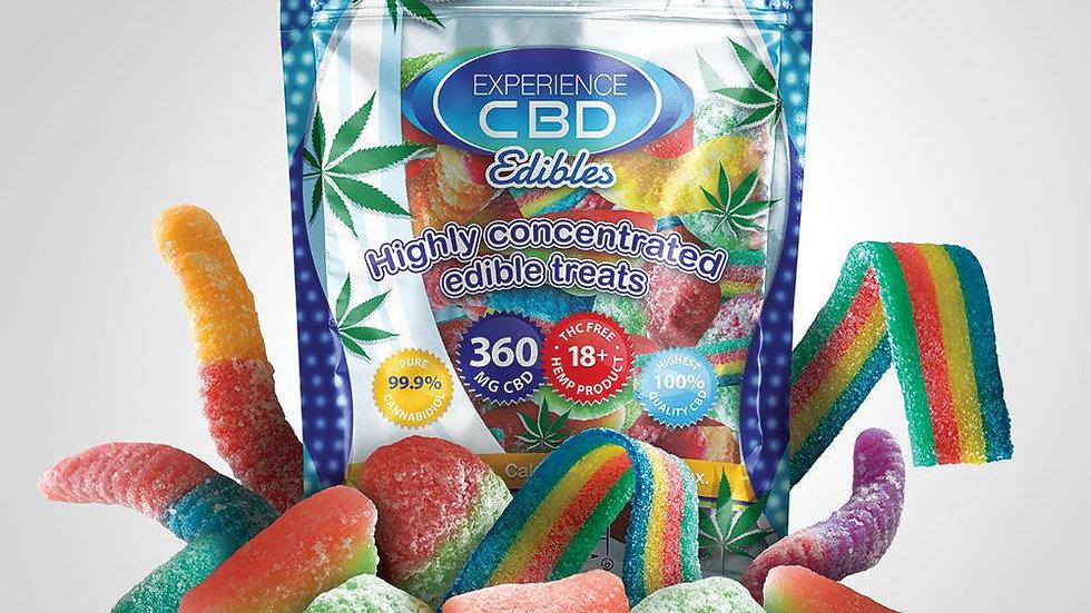 Experience CBD 120mg edibles