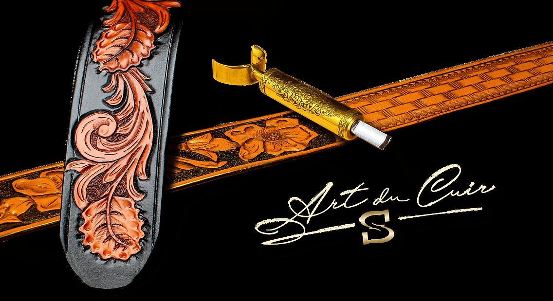 Artiste autodidacte dans la fabrication artisanale d'objets custom en cuir