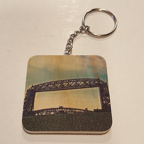 Duluth Lift Bridge Keychain