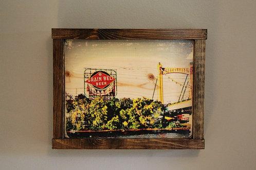 """8x10"""" Grain Belt Wall Art - Color"""