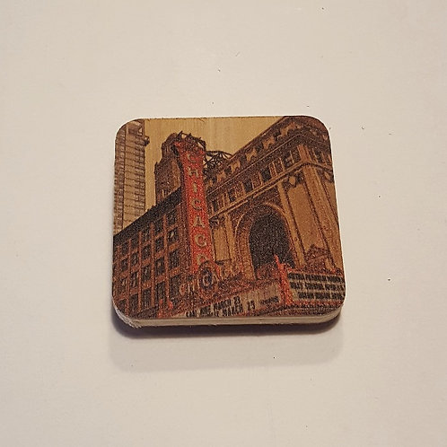 Chicago Marquee Magnet