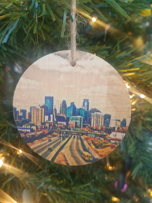 Minneapolis Skyline Ornament