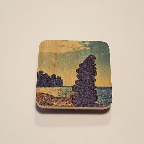 Cairn on Lake Superior Magnet