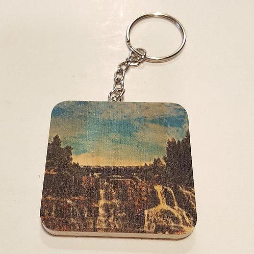 Gooseberry Falls Keychain