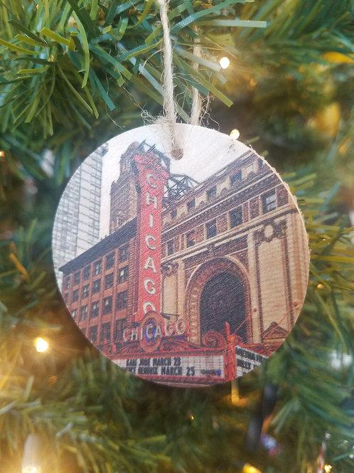 Chicago Theatre Ornament