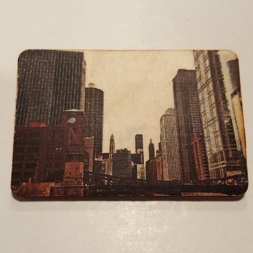 Chicago River Magnet