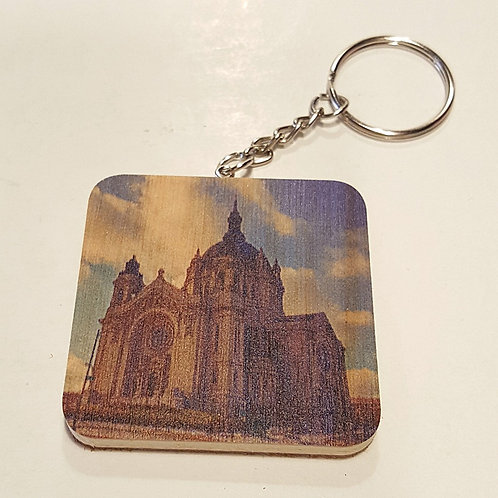 Saint Paul Cathedral Keychain