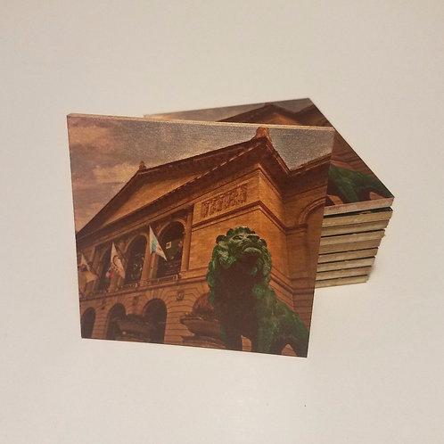 Chicago Art Institute Coaster